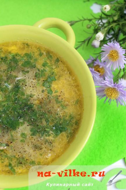 Куриный суп «Паутинка»