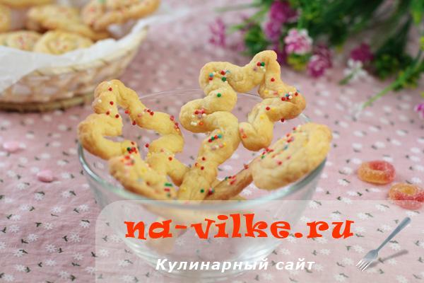 Печенье для детского праздника Волшебные палочки