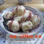 Аппетитные ленивые вареники с творогом и любимым джемом