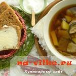Суп из сушеных белых грибов – восхитительный вкус и аромат осени