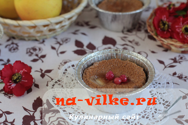 Приготовление сочной груши в шоколаде