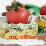 Кюкю с зеленью - рецепт