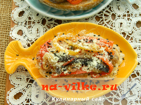 Овощная закуска в мультиварке