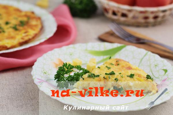 Аппетитная и сочная запеканка из соусных кабачков