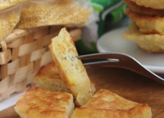Готовим аппетитные домашние оладьи из пшена со сливками