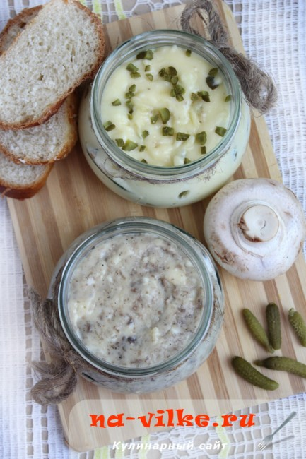 Плавленный сыр с добавками - рецепт