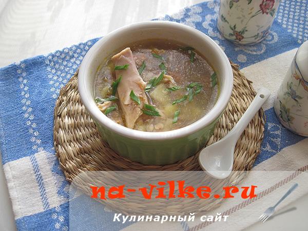 Вкусный суп из кролика домашнего приготовления