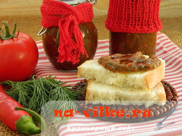 Томатный соус без термической обработки