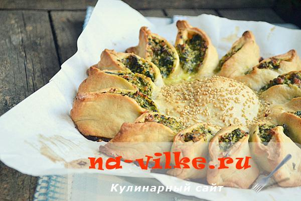 Пирог «Солнышко»