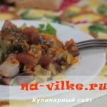 Вкусная праздничная закуска из сельди быстрого приготовления