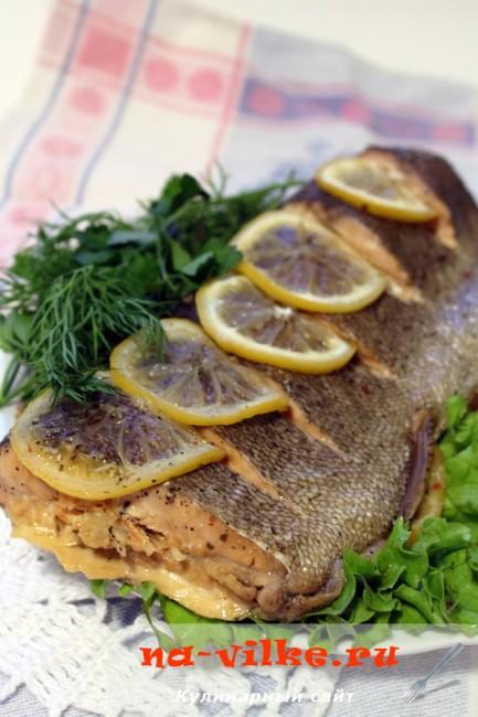 Сколько запекать рыбу в фольге