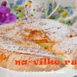 Готовим вкусный домашний бисквит «Пища ангелов»