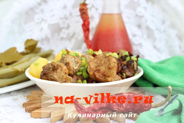 Оджахури, или свинина с картофелем по-грузински