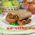 Вкусные крученые пирожки с капустой по-карельски