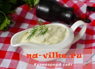 Настоящий сливочный соус для вторых блюд и салатов