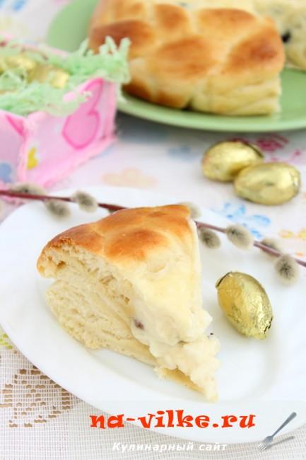 Румынский пасхальный хлеб (Romanian Easter bread/Pasca)