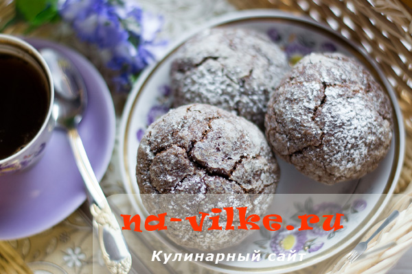 Как приготовить шоколадное печенье в домашних условиях