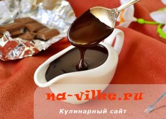 Вкусный соус из какао порошка для различных десертов