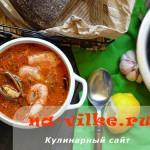 Марсельская уха или классический рыбный суп буйабес
