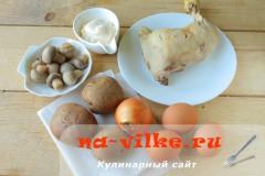 salat-s-kuricey-gribami-1