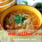 Готовим украинский борщ с курицей в мультиварке