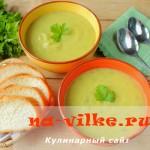 Варим диетический овощной суп из кабачков и картофеля