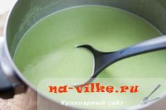 Готовим диетический крем-суп из зеленого гороха со сливками