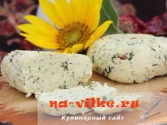 Варим вкусный сыр с укропом, горьким перцем и соевым соусом