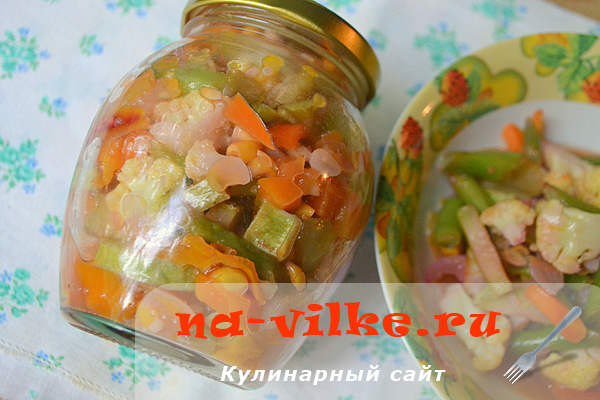 Овощная заготовка для супа на зиму / Заправка