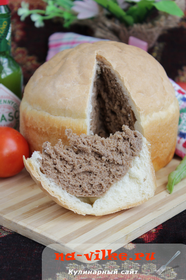 Хлеб черно-белый «Два в одном»