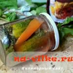 Рецепт острых маринованных огурцов на 2 литровые банки