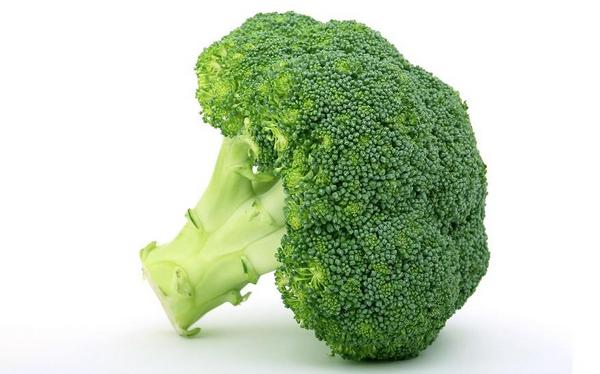 Fresh green vegetable, isolated over white