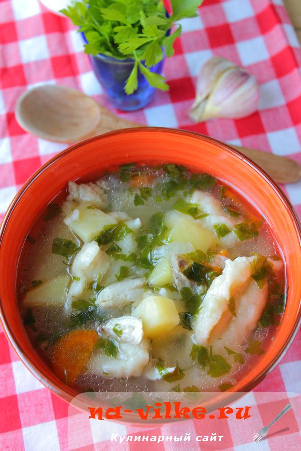 Суп в мультиварке с галушками