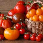 Разноцветные томаты