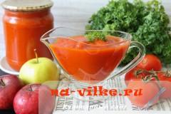 Заготавливаем вкусный домашний «Краснодарский» соус на зиму