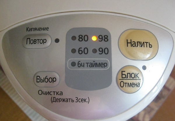 Очистка термопота