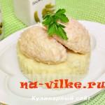 Французские кнели из курицы и риса для диетического питания