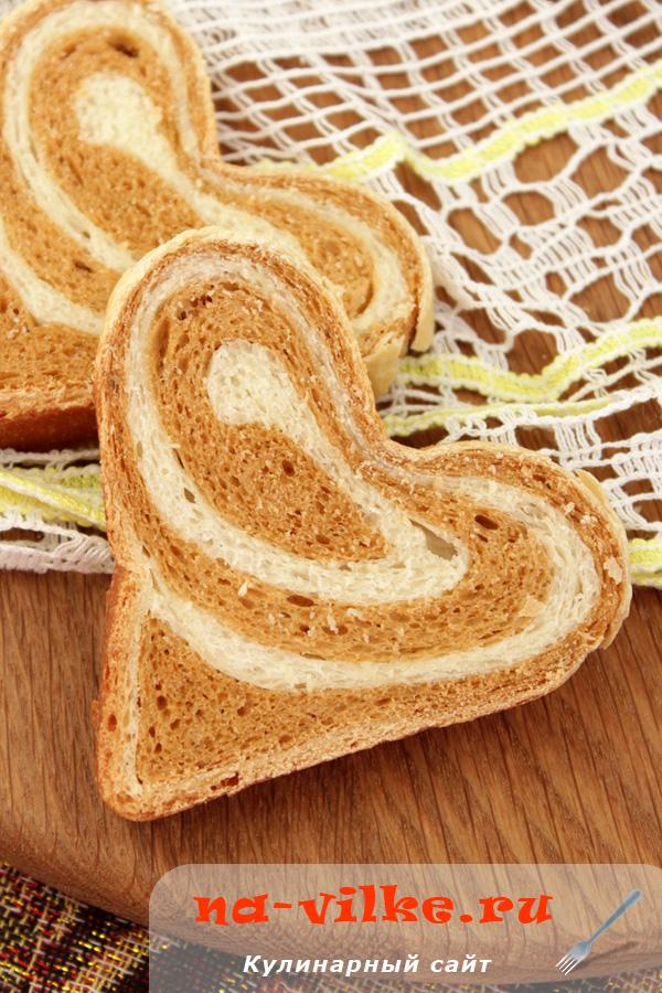 Молочно-томатный хлеб