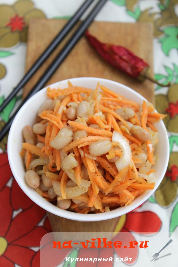 Фасоль по-корейски