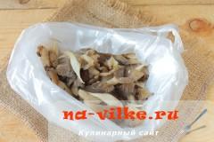 Как заморозить грибы вешенки