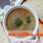 Диетический суп с гречкой и куриными крылышками