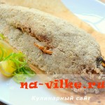 Рыба-окунь, запечённая в духовке в соли