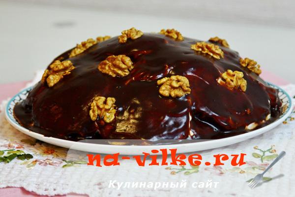 Выпекаем классический торт Черепашка со сметанным кремом