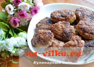 Вкусные жареные котлеты из свинины и говядины