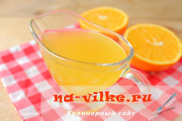 Ароматная апельсиновая пропитка для бисквитных коржей