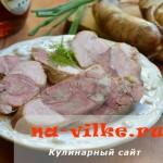 Готовим ветчину домашнюю из курицы и свиной рульки