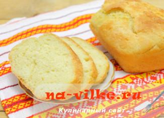Домашний хлеб из теста на картофельном отваре и пюре