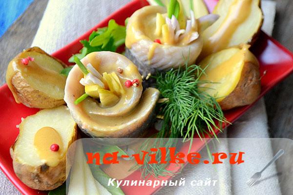 Рольмопсы - закуска из сельди