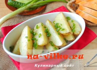 Готовим молодую картошку в духовке – просто и быстро