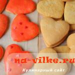 Вкусное печенье на скорую руку с цветной глазурью